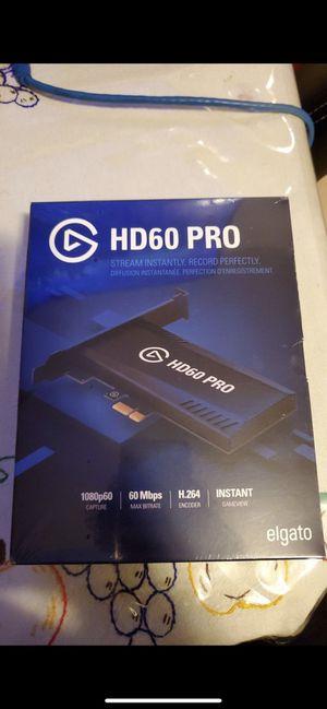 Elgato Hd60 Pro for Sale in Escondido, CA