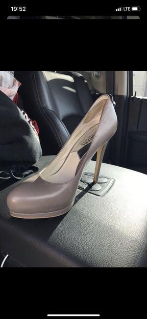 Gray Michael Kors heels for Sale in Moreno Valley, CA