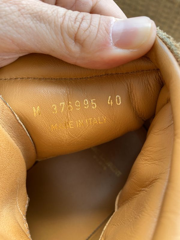 Yves Saint Laurent Men's Hightop Shoes