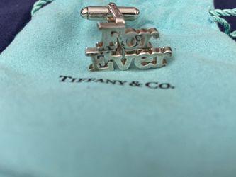 Tiffany & Co Silver Cuff links for Sale in Las Vegas,  NV