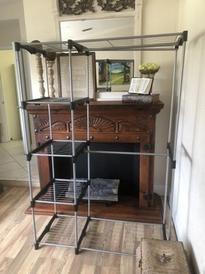 Wire shelf closet organizer for Sale in LAUD LAKES, FL