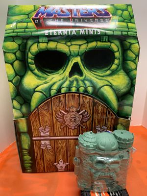 Masters Of The Universe MOTU Eternia Minis He-Man Slime Pit Chase Figure Mint Sealed for Sale in Oregon City, OR