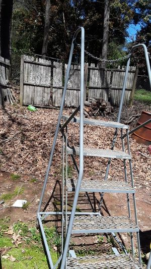Safety ladder with wheels for Sale in Lawrenceville, GA