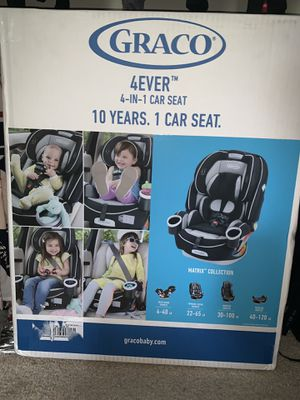 Brand new sealed Graco 4ever car seat for Sale in Riverdale, GA