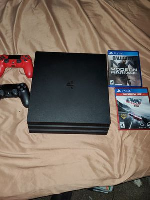 Ps4 pro for Sale in Houston, TX