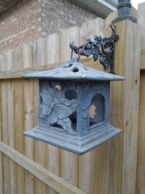 """10"""" Aluminum Candle Holder for Sale in Posen, IL"""