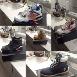 Jordan shoes & timberland boot for Sale in Dallas, TX