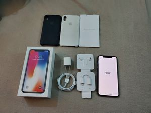 Apple iPhone X Space Grey 256GB Factory Unlocked With Applecare+ and Extras for Sale in Hillsboro, OR