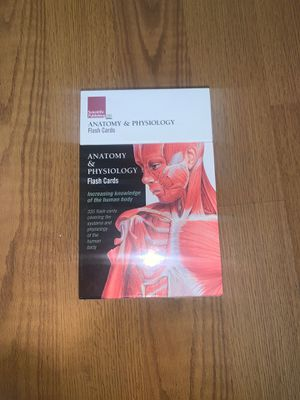 Anatomy and physiology flash cards for Sale in Mesa, AZ