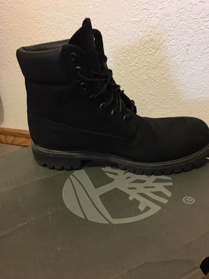 Men's black Timberlands for Sale in Sanger, CA