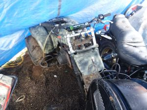 1985 Kawasaki 160w/ shaft drive and reverse its a rate wheeler I have all the parts that go on I for Sale in Creswell, OR