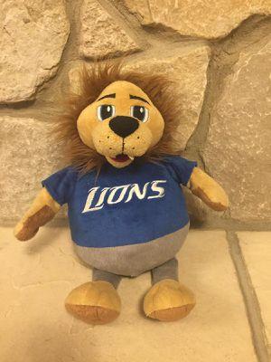DETROIT LIONS REVERSE STUFFED ANIMAL TOY FOOTBALL for Sale in Dearborn, MI