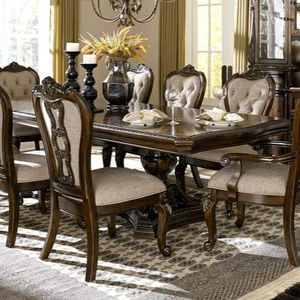 7 PIECE DINING ROOM SET $39 DOWN PAYMENT only for Sale in Arlington, VA