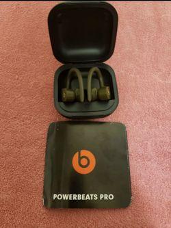 Green PowerBeats Pro for Sale in Mount Pleasant,  SC