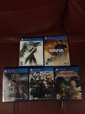 Ps4 games for sale for Sale in Alexandria, VA