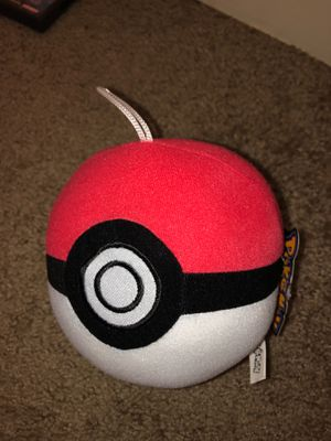 Pokeball plushie for Sale in Greenbelt, MD