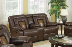 GT Cobra Brown Recliuhasning Loveseat | U9800 for Sale in Ellicott City, MD