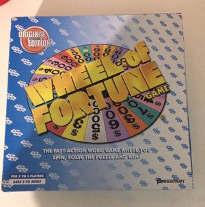 Vintage 2004 Wheel of Fortune Board Game for Sale in San Leandro, CA