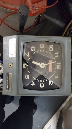 Cincinnati time clock for Sale in Anaheim, CA