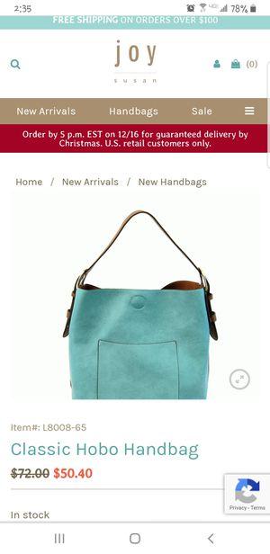 Like new Joy Susan Vegan Tote Pale Blue for Sale in New Castle, DE