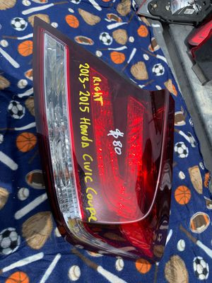 2013-2014-2015 HONDA CIVIC COUPE TAIL LIGHT RIGHT PASSENGER SIDE OEM for Sale in Gardena, CA