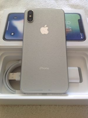 Apple iPhone X 64GB (T-MOBILE) UNLOCKED $450 FIRM for Sale in Santa Ana, CA