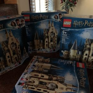 Harry Potter Goblet Of Fire Clock Tower Lego for Sale in Missouri City, TX