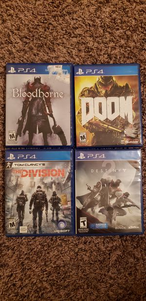 Ps4 games!!! for Sale in Las Vegas, NV