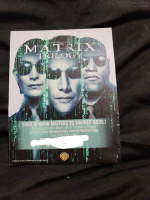 Matrix Trilogy 4K Dolby Vision Digital Code for Sale in Hollywood, FL