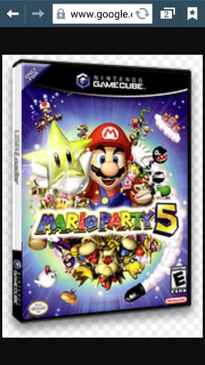 Mario party 5 game cube 🎊 wii for Sale in Peoria, AZ