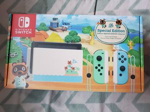 Nintendo Switch Animal Crossing Edition for Sale in Anaheim, CA