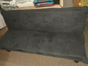 Suede futon bed for Sale in Kent, WA