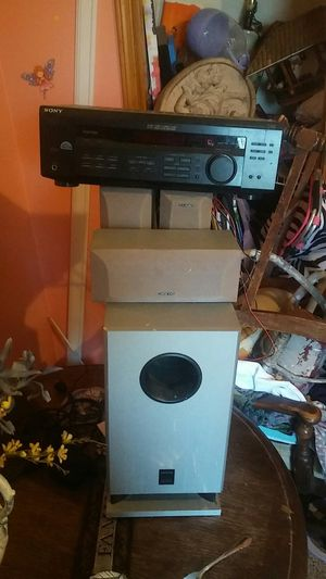 Onkyo subs and speakers with equalizer for Sale in Lawrenceville, GA