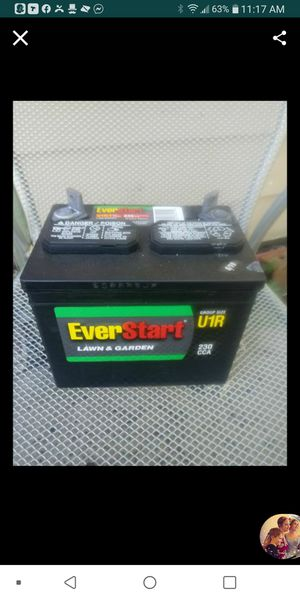 Brand new lawn and garden battery never been used for Sale in Aurora, CO
