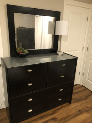 Glass Top Dresser for Sale in Portland, OR