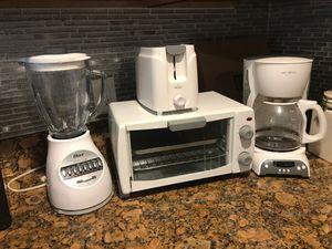 All white kitchen appliance set for Sale in Norfolk, VA
