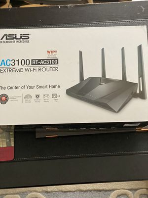 Asus AC3100 RT-AC3100 Wifi Router for Sale in Kenosha, WI