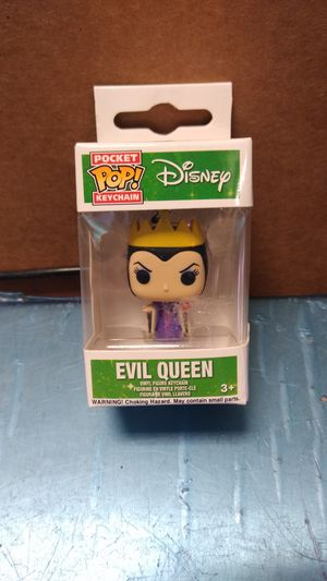 Pocket pop keychain Disney evil Queen for Sale in Philadelphia, PA