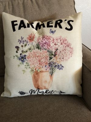 FARMHOUSE PILLOW COVERS for Sale in Wenatchee, WA