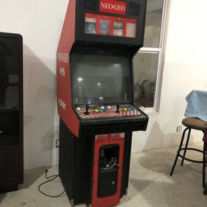Neo Geo Big Red Arcade 4 Slots Works Great for Sale in San Diego, CA