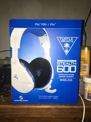Brand New Turtle Beach Stealth 600 Wireless Gaming Headphones for Sale in Germantown, MD