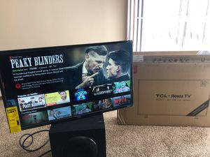 """TCL Roku TV 32"""" for Sale in Bexley, OH"""