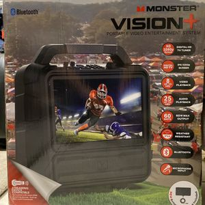 MONSTER VISION Portable Video Entertainment System Bluetooth for Sale in San Diego, CA