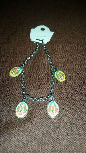 Stainless steel Virgen de guadalupe bracelet for Sale in Hyattsville, MD