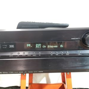 Onkyo TX-SR806 AV 7.1 Receiver 130 Watts WITH Remote Power Cord - NO HDMI IN - SEE NOTES for Sale in Charlotte, NC