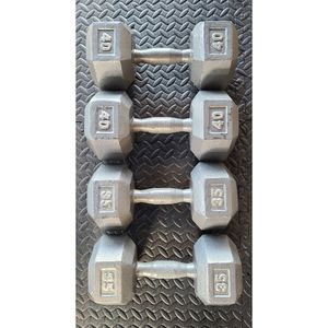 Dumbbells Pair Of 35, 40 Lbs for Sale in SeaTac, WA