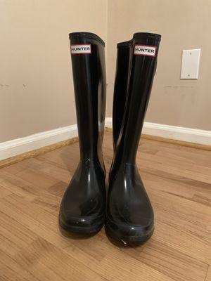 Hunter Rain Boots Black for Sale in Kennesaw, GA