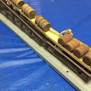 """Vintage """"Post War Era"""" Lionel 362 Vintage Operating Barrel Loader Ramp Probably in the 1940s or 50s made in the USA Great condition/no refunds no retu for Sale in Hollywood, FL"""