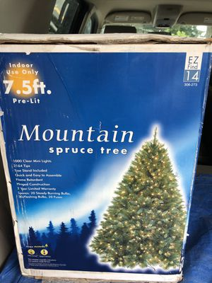 Artificial Pre-lit Christmas Tree for Sale in Maple Valley, WA