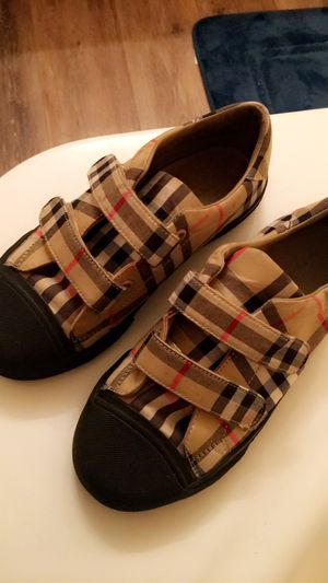 Burberry shoes kids for Sale in Orlando, FL